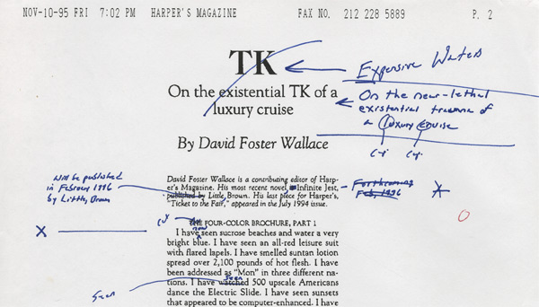 Best essays by david foster wallace